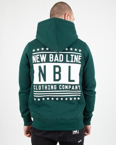 Bluza New Bad Line Hoodie Swag Green