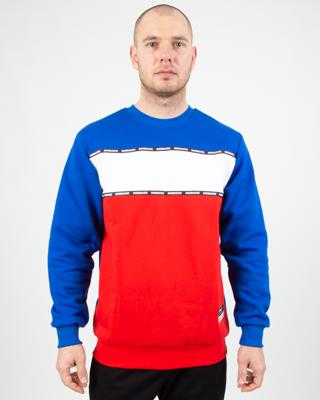 Bluza Patriotic Futura Double Line White-Red-Blue
