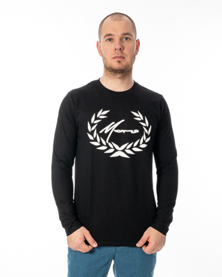Longsleeve Moro Sport Big Paris Laur Black