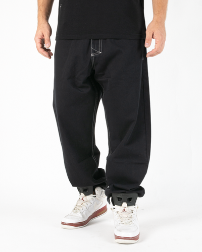 Spodnie Chino Baggy Fit Mass Craft Black
