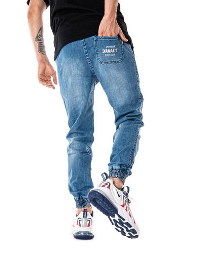 Spodnie Diamante Wear Jeans Jogger Rm Light Wyprane