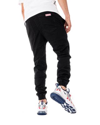 Spodnie Jeans Jogger Proceder Czarne