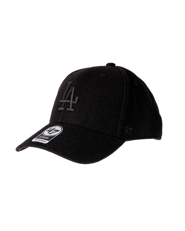 Czapka Snapback 47 Brand Los Angeles Dodgers Melton Czarna