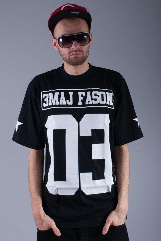 3MAJ FASON KOSZULKA 03 BLACK