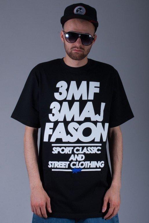 3MAJ FASON KOSZULKA CLASSIC BLACK