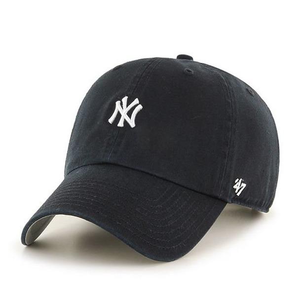 47 BRAND CAP MLB NEW YORK YANKEES BLACK