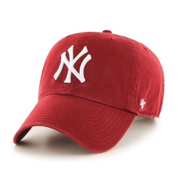 47 BRAND CAP MLB NEW YORK YANKEES CLEAN UP BRICK