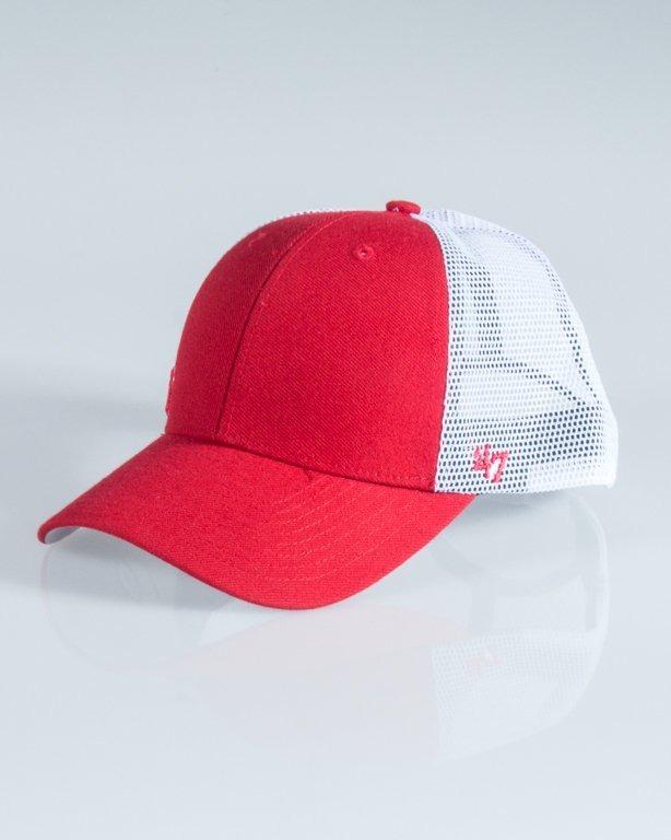47 BRAND CAP TRUCKER NEW YORK YANKEES SMALL RED-WHITE