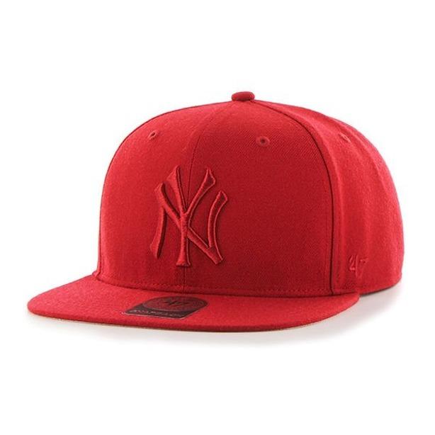 47 BRAND SNAPBACK NEW YORK YANKEES RED