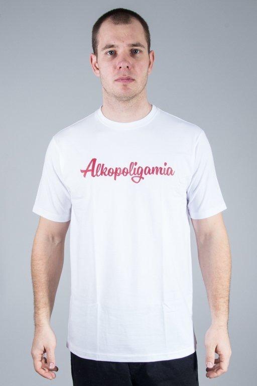 ALKOPOLIGAMIA T-SHIRT BASIC WHITE