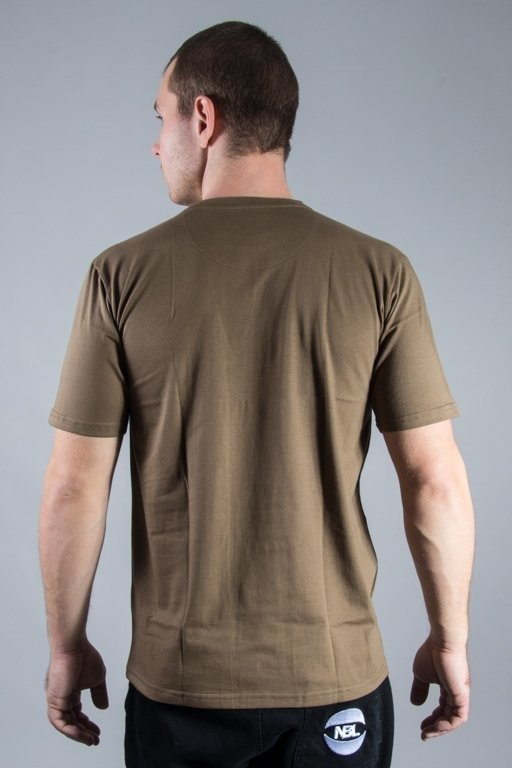 ALKOPOLIGAMIA T-SHIRT LYL FRAME BROWN
