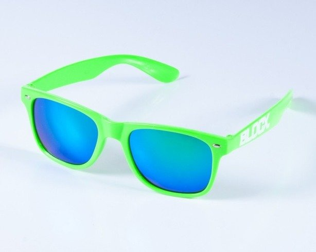BLOCX OKULARY BLOCX TOXIC GREEN COL
