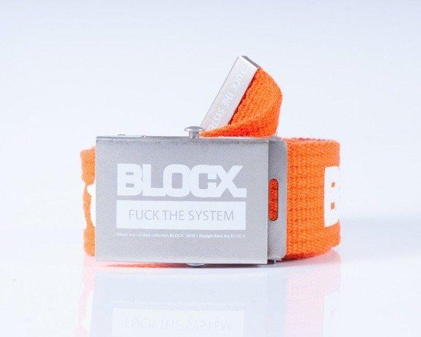 BLOCX PASEK PARCIANY CLASSIC ORANGE