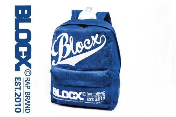 BLOCX PLECAK BLOCX BLUE