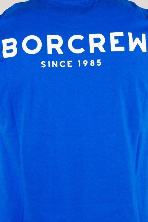 BOR T-SHIRT CLASSIC BORCREW BLUE