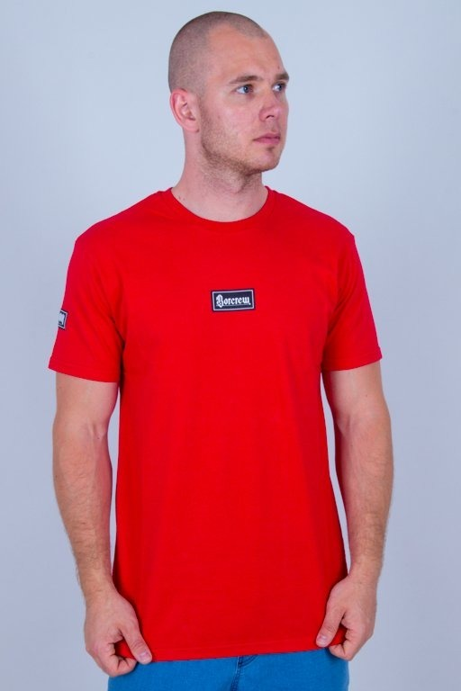 BOR T-SHIRT GOTYK RED