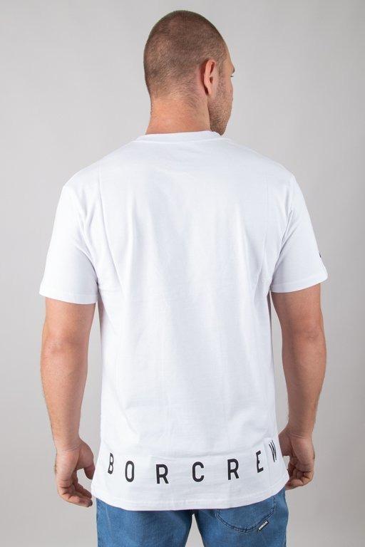 BOR T-SHIRT KWADRAT WHITE
