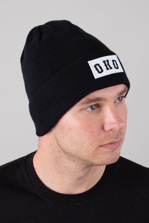 BOR WINTER CAP OKO BLACK