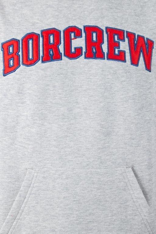 Bluza Bor College Reglan Grey-Red