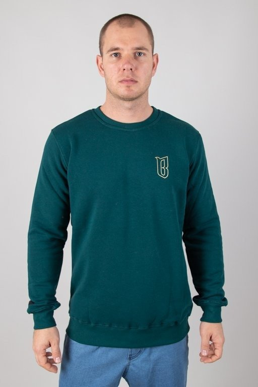 Bluza Bor Outline Borcrew Green
