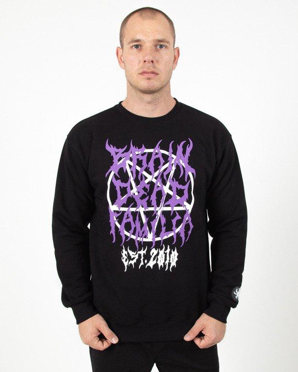 Bluza Brain Dead Familia Black metal black
