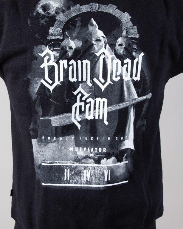 Bluza Brain Dead Familia Hoodie Zip Kat Black