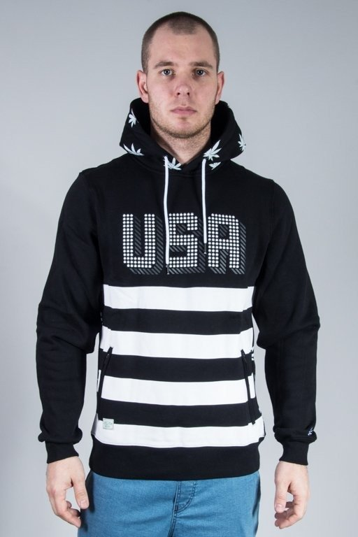 Bluza Cayler & Sons Hoodie United We Stand Black-White