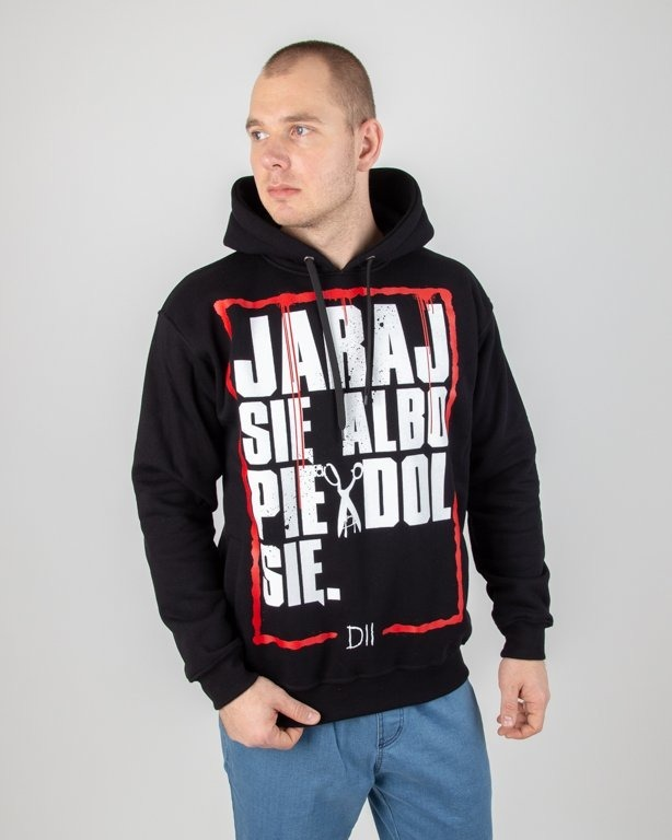 Bluza Demonologia Hoodie Jaraj Się Black