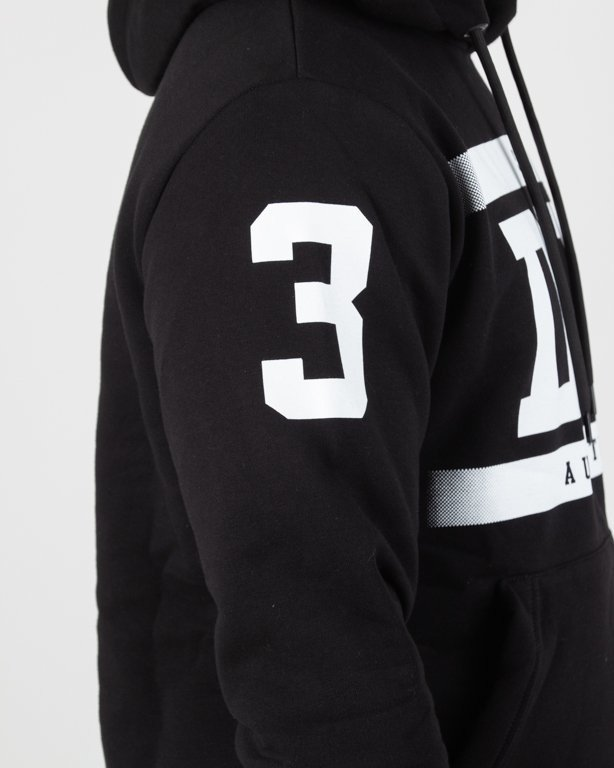 Bluza Dixon37 Hoodie Horizontal Black