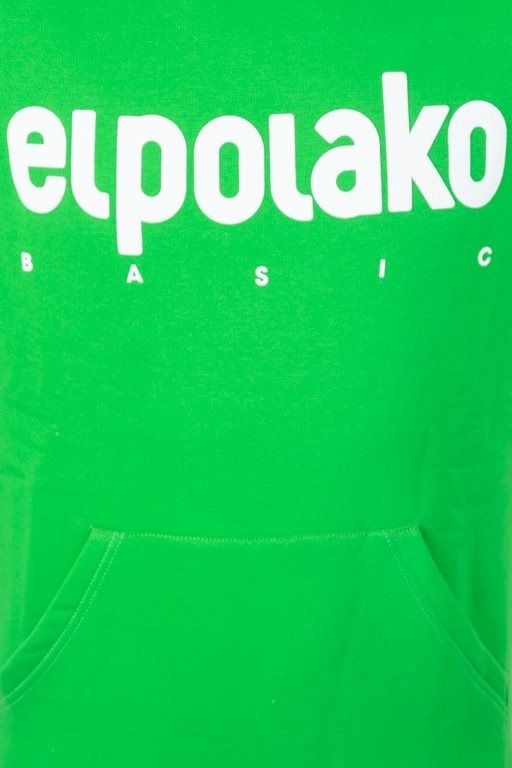 Bluza El Polako Hoodie Classic Green