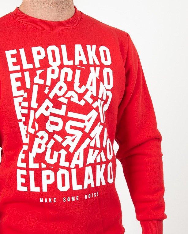 Bluza El Polako Noise Red