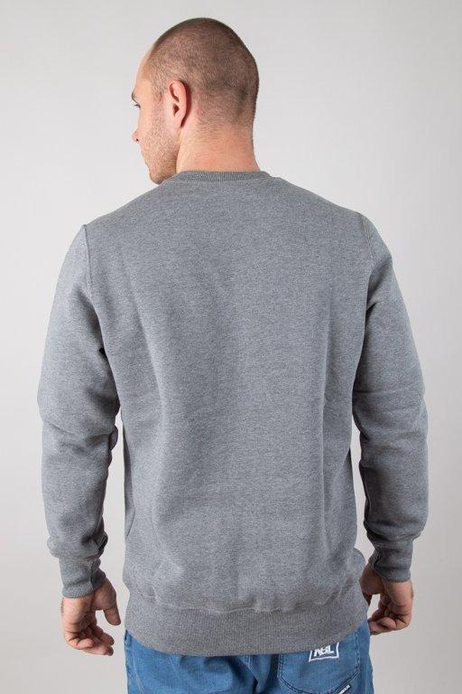 Bluza Elade Box Logo 3d Grey
