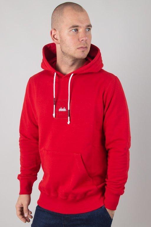 Bluza Elade Hoodie Square Red