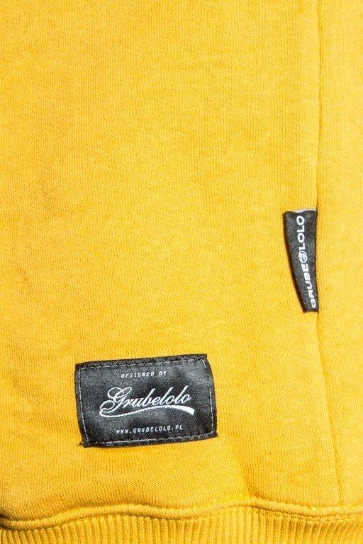 Bluza Grube Lolo Logo Gl Mustard