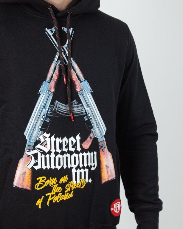 Bluza Hoodie Double Guns Black