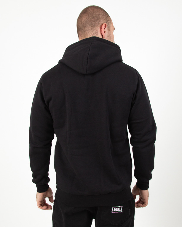 Bluza Hoodie Patriotic Cls Fonts Pion Black
