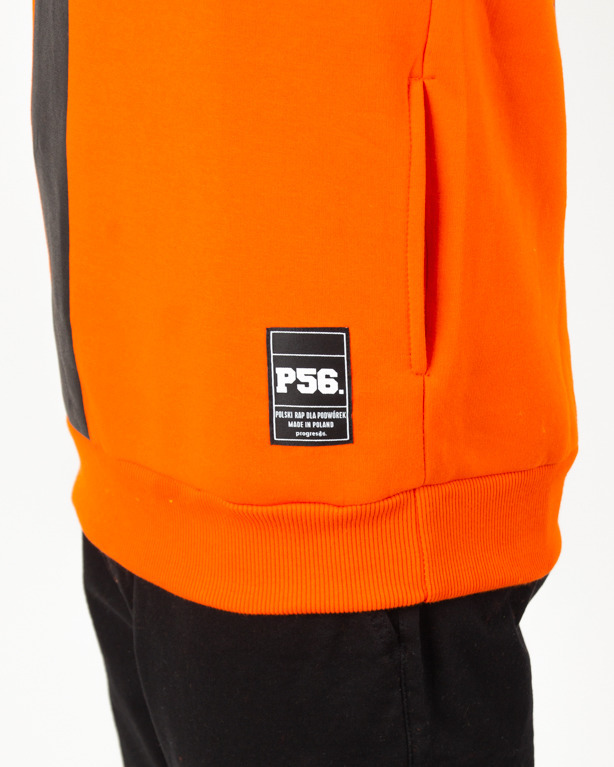 Bluza Hoodie Dudek P56 Football Orange