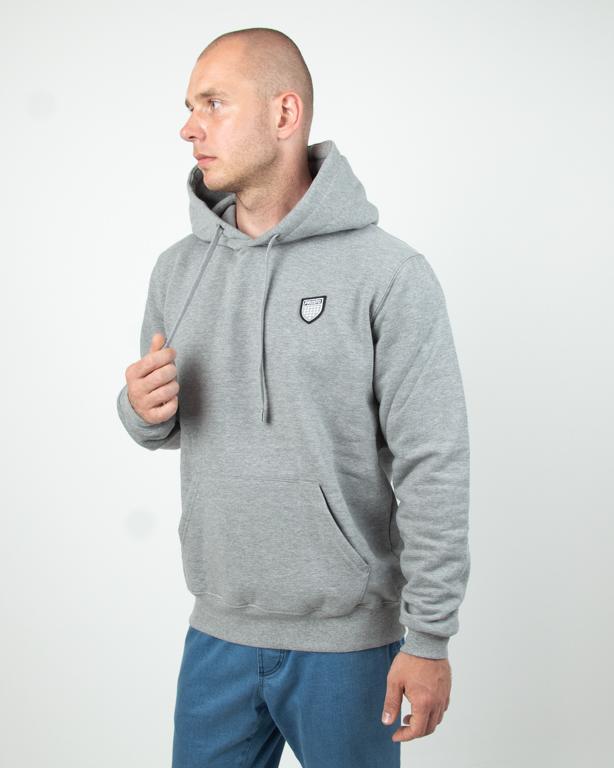 Bluza Hoodie Prosto Network Grey