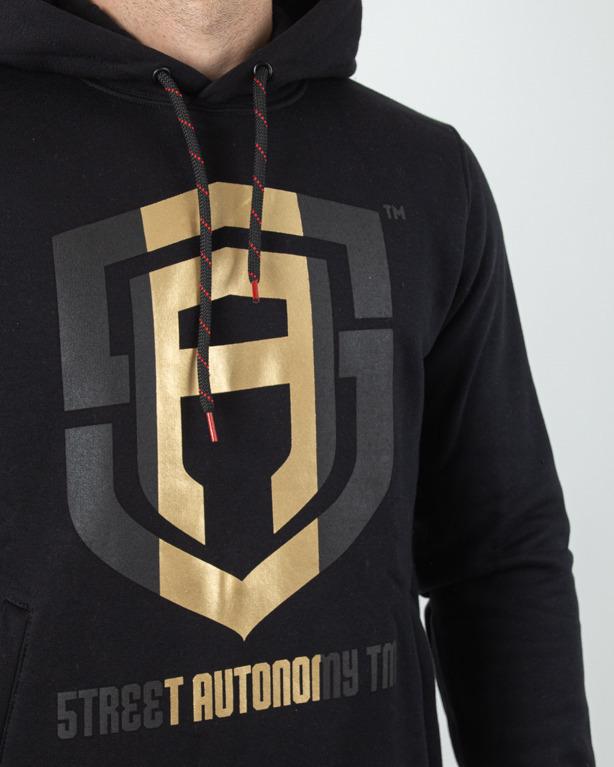 Bluza Hoodie Street Autonomy Gold Black