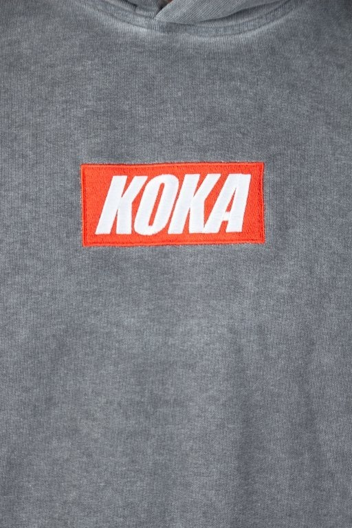 Bluza Koka Hoodie Mini Boxlogo Grey