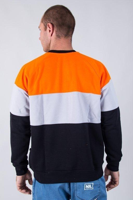 Bluza Lucky Dice 3panels Orange-Grey