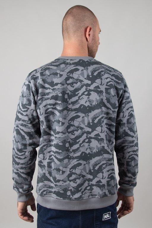 Bluza Lucky Dice Colour Stain Camo Grey