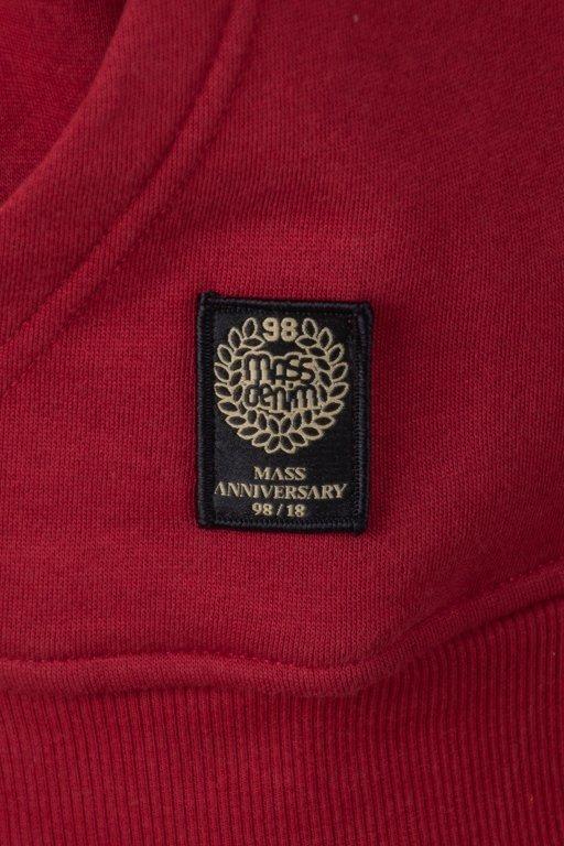 Bluza Mass Hoodie Signature  Brick