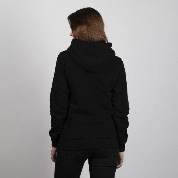 Bluza Mass Hoodie Woman Signature Medium Logo Black