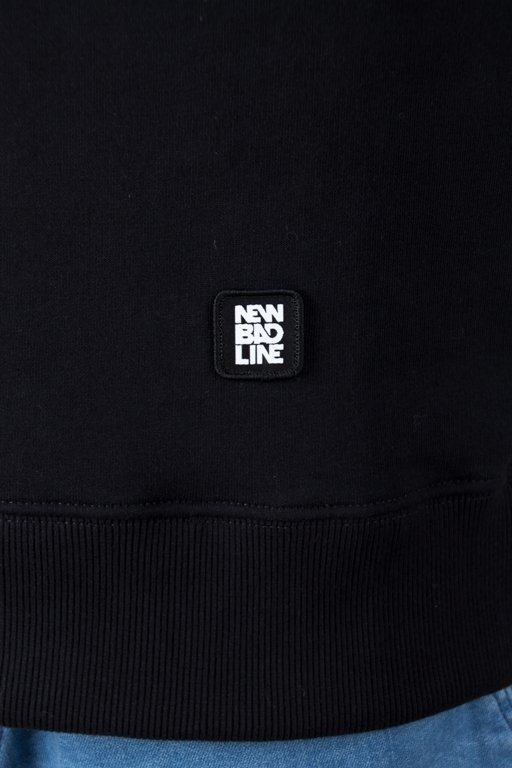 Bluza New Bad Line Cut Icon Black