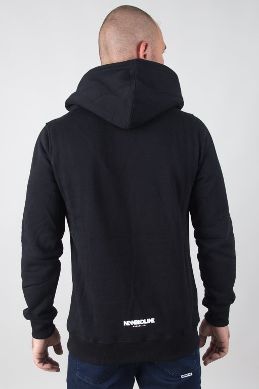 Bluza New Bad Line Hoodie Draw Black