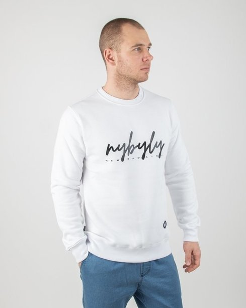 Bluza New Bad Line Nybyly White