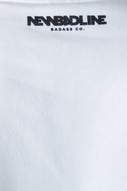 Bluza New Bad Line Palm White