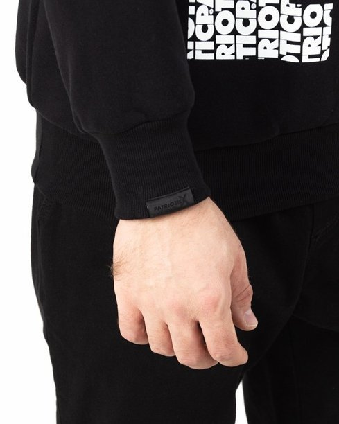 Bluza Patriotic Cls Fonts Pion Black