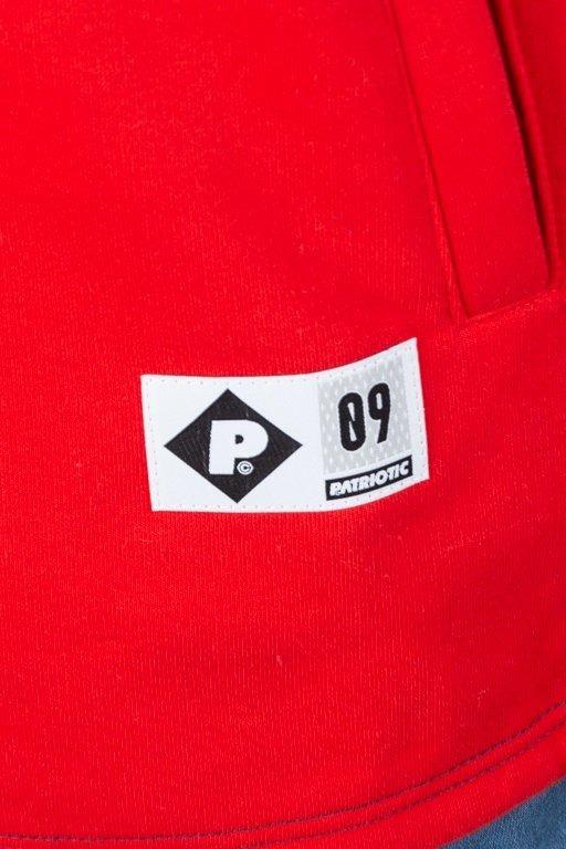 Bluza Patriotic Half Zip F Shade Shoulder Navy-Red